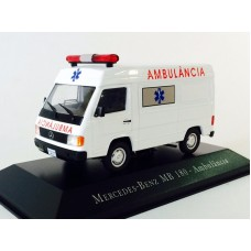 """Mercedes Benz: MB 180 """"Ambulância"""""""