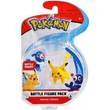 Pokemon Battle Figure - Pikachu / Popplio